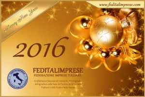 Happy New Year feditalimprese 2016
